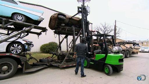 Epic Forklift Fail