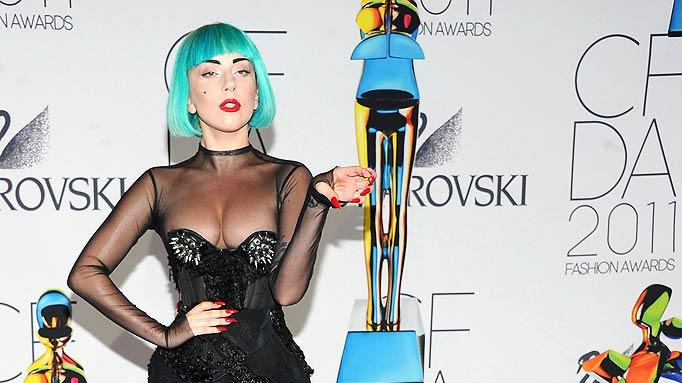 Lady Gaga CFDA Awards