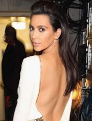 Kate Moss and Jennifer Lawrence have both nailed the backless Tom Ford frock, now it's Kim Kardashian's turn…
