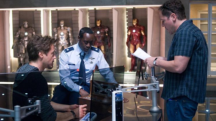 Iron Man 2 Stills Paramount Pictures 2010 Robert Downey Jr. Don Cheadle Jon Favreau