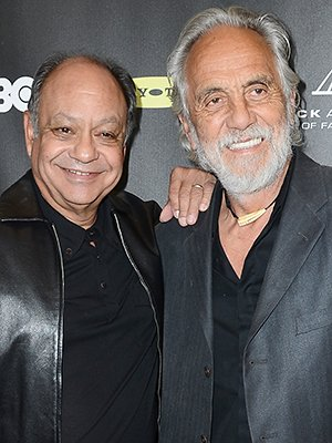 Cheech Marin, left, and Tommy Chong