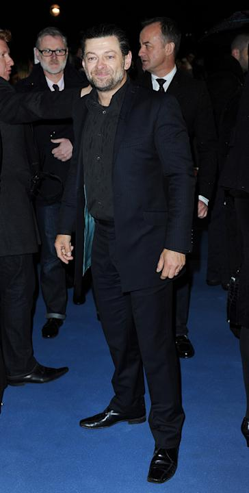 The Iron Lady 2012 London Premiere Andy Serkis