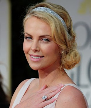 Get glowing like Charlize Theron.