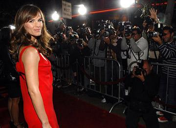 Jennifer Garner at the Westwood Premiere of Universal Pictures' The Kingdom