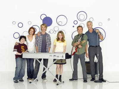 Kurt Doss, Katie Amanda Keane, Austin Butler, Alexa Vega, former teen idol David Cassidy and Patrick Cassidy star in the ABC Family series Ruby and the Rockits.