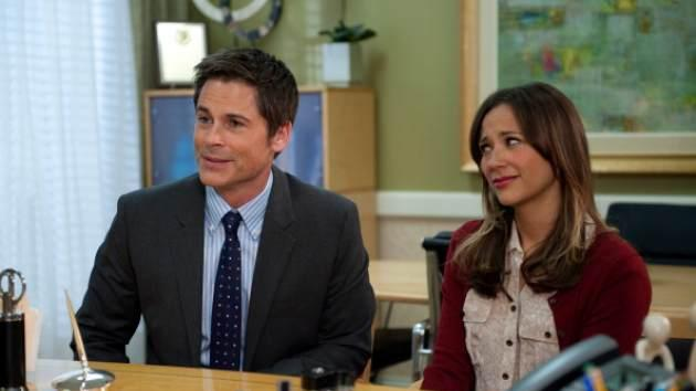 Rob Lowe and Rashida Jones on NBC's 'Parks and Recreation' -- NBC