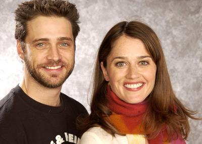 Jason Priestley and Robin Tunney Cherish Sundance Film Festival 1/14/2002