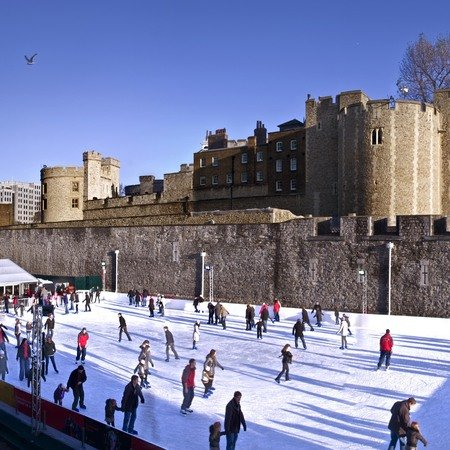 Top open air ice-rinks to get you skating this Christmas