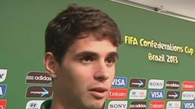 Oscar pleased with Brazil progress