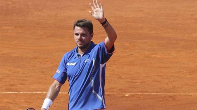 Tennis - Wawrinka beats Berdych to reach Madrid final