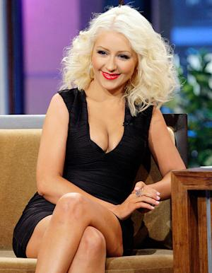 Christina Aguilera Rocks Even Skinnier Body on Tonight Show: Pictures