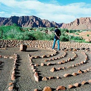 Desert Rose Labyrinth