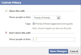 How To View Your Facebook Profile As Someone Else (Or As The Public Does) image facebook profile custom privacy