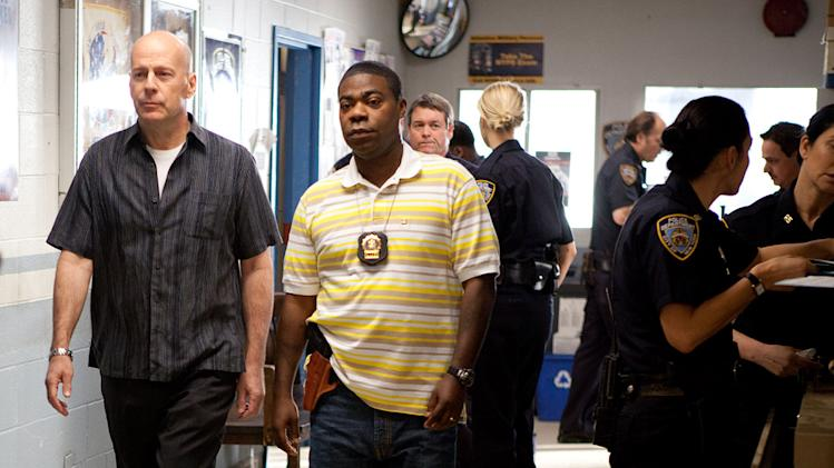 Cop Out Warner Bros Pictures 2010 Production Photos Bruce Willis Tracy Morgan