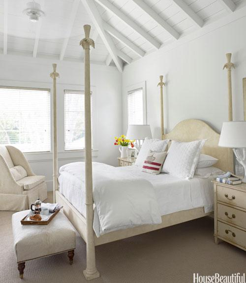 Traditional Modern White Bedroom