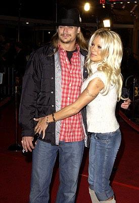 Kid Rock and Pamela Anderson at the LA premiere of Universal's 8 Mile