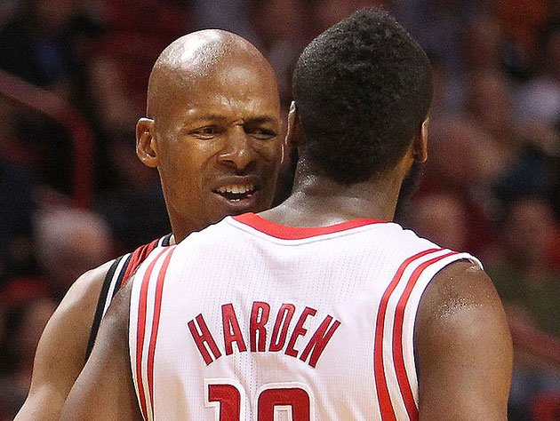 Ray Allen came thisclose to signing with James Harden's Rockets. (Getty Images)