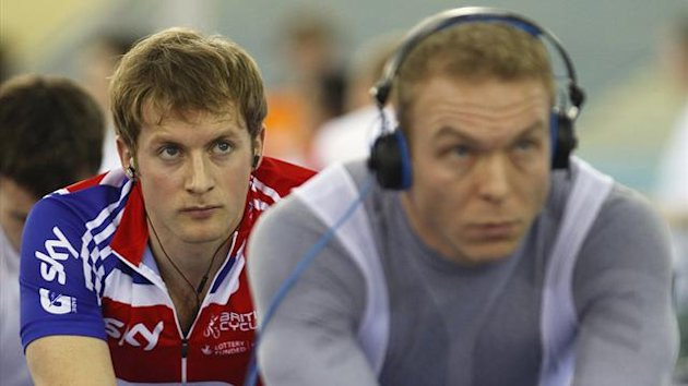 Jason Kenny and Chris Hoy