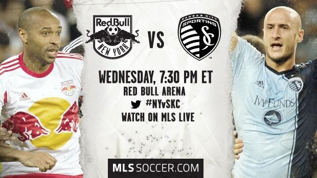 New York Red Bulls vs. Sporting Kansas City: MLS Match Preview