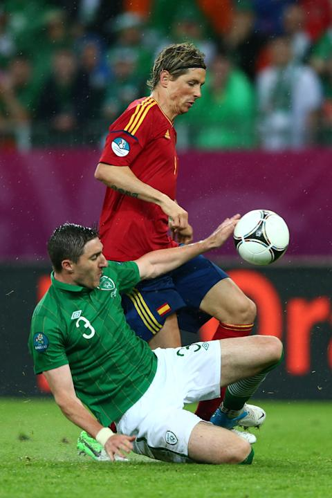 Spain v Ireland - Group C: UEFA EURO 2012