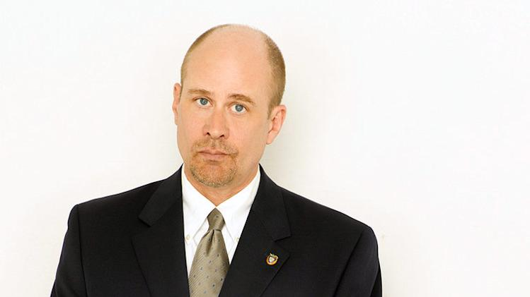 "Terry Kinney as Sergeant Harvey Brown in ""The Unusuals."""