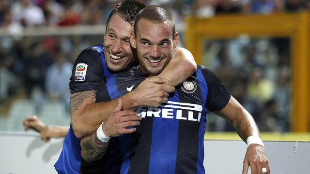 Serie A - Sneijder could join Schalke in New Year