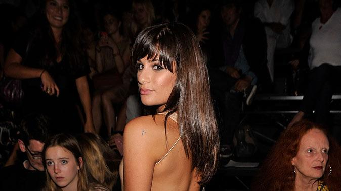 Lea Michelle Fashion Week