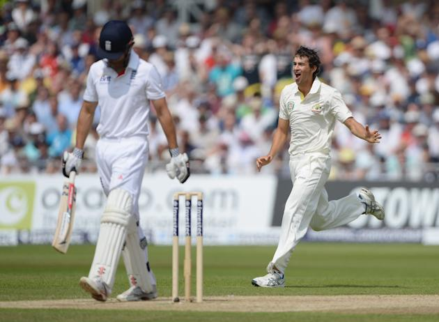 England v Australia: 1st Investec Ashes Test - Day Three