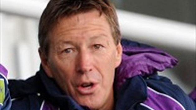 Craig Bellamy's Melbourne Storm have arrived in England