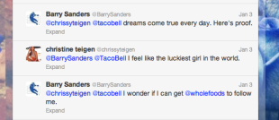 Marketing Karma: Taco Bell Teaches Us Selflessness image Barry sanders on top Barry Sanders