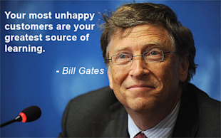 How to Deal with Unhappy Customers image Bill Gates 2012907b