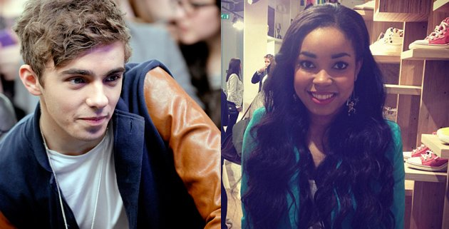 Nathan Sykes, Dionne Bromfield
