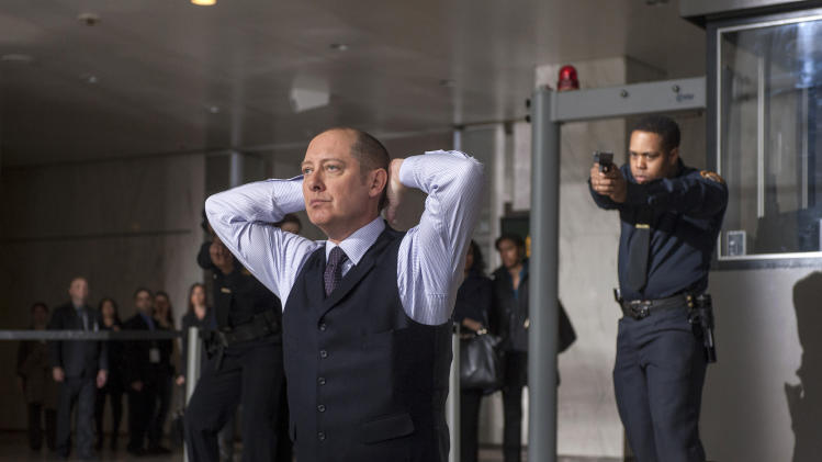"This publicity image released by NBC shows James Spader as ""Red"" Raymond Reddington in ""The Blacklist,"" premiering Monday, Sept. 23 at 10 p.m. EST. (AP Photo/NBC, David Giesbrecht)"