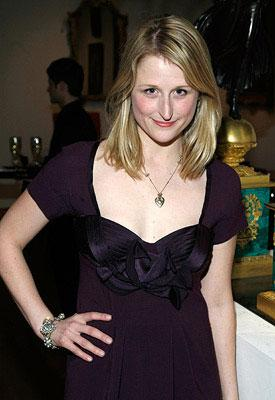 Mamie Gummer at a private screening of Columbia Pictures' The Other Boleyn Girl in New York City