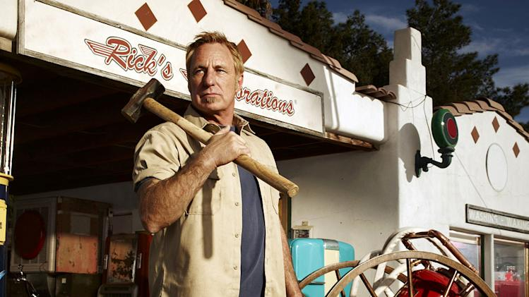 "RIck Dale in ""American Restoration."""