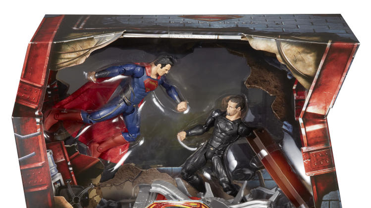DC Man of Steel Movie Masters Superman vs General Zod Movie Pack