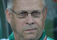 Former Sweden coach Lars Lagerback, pictured here in 2010, praised the level of footballing talent on display in Iceland on Friday after being named as the new man in charge of their national team
