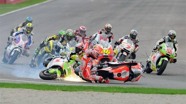 MotoGP Crash