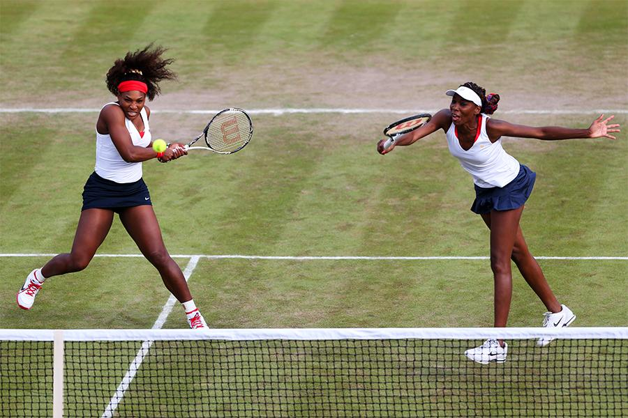 Venus & Serena Williams battle Romania in London this year
