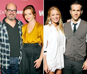 "Amber Tamblyn Says Husband David Cross and Blake Lively's Husband Ryan Reynolds Are ""Really in Love"""