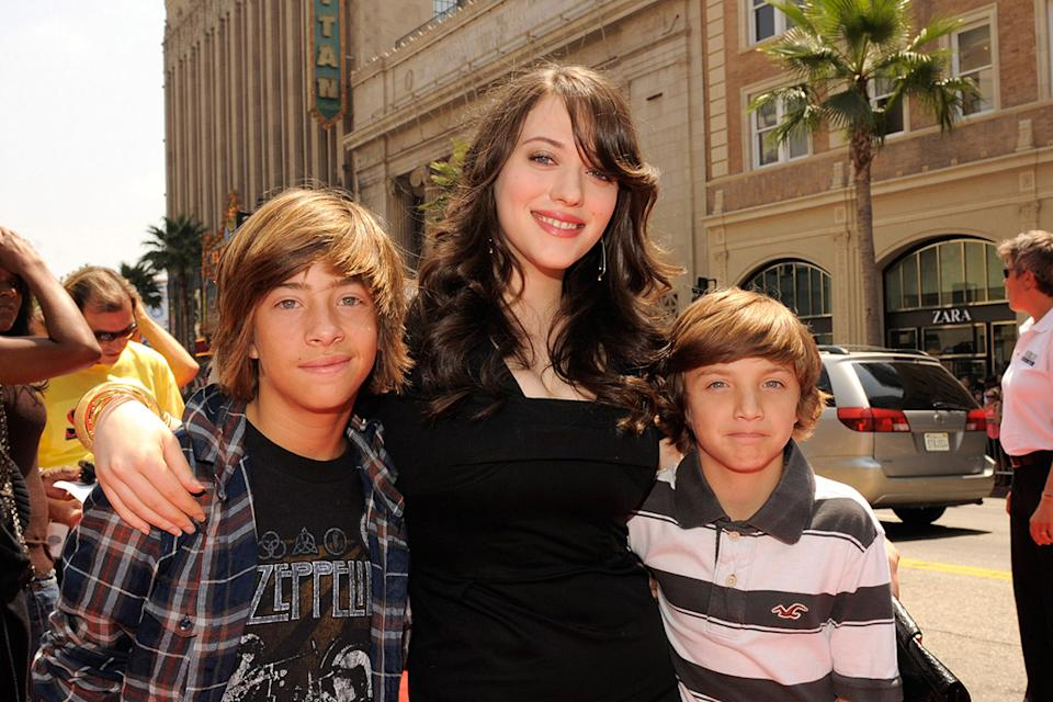 Shorts LA premiere 2009 Jimmy Bennett Kat Dennings Jake Short