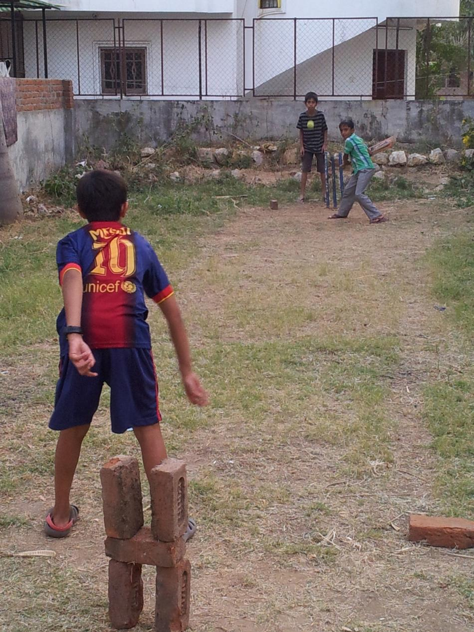 This Messi is cricket-curious. By Kayoom Mistry [SCPC5]