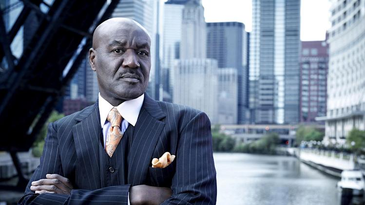 "Delroy Lindo stars as Alderman Ronin Gibbons in ""The Chicago Code."""
