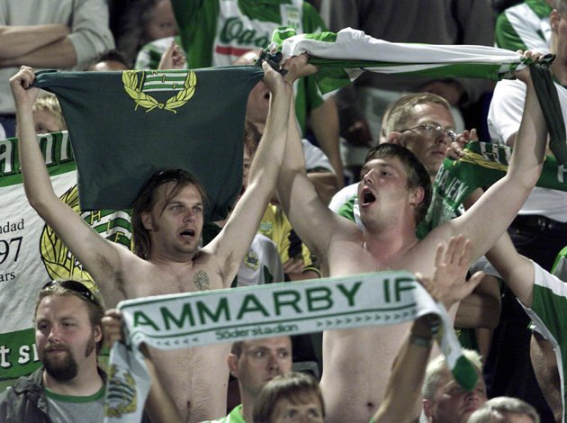 Swedish second-tier sellout tops Premier League crowds