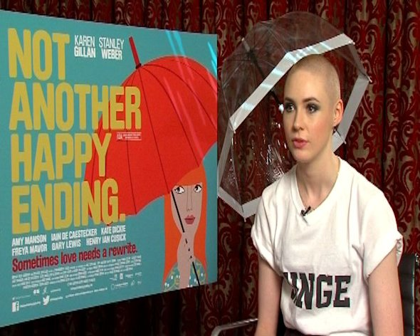 Karen Gillan plays a writer in rom com Not Another Happy Ending