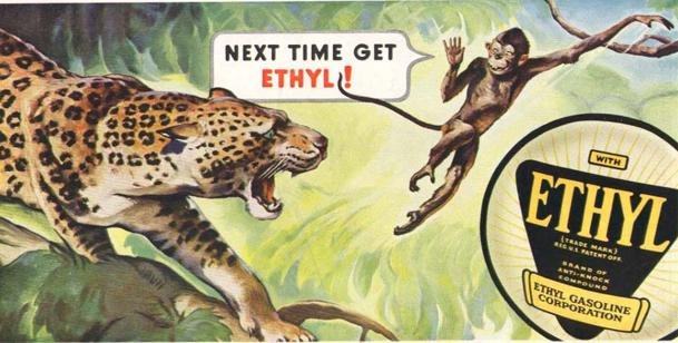 Ad for Ethyl Gasoline