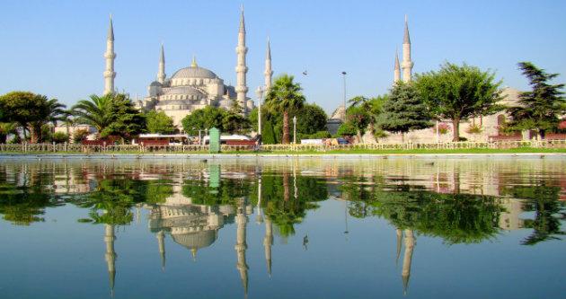 المسجد الأزرق في إسطنبول - المصدر: ويكيبيديا
