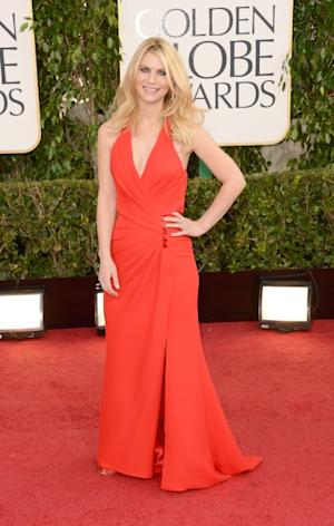 Claire Danes arrives at the 70th Annual Golden Globe Awards held at The Beverly Hilton Hotel on January 13, 2013 in Beverly Hills -- Getty Images