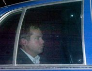 John Hinckley Jr. departs from the E. Barrett Prettyman U.S. District Court building in Washington, November 18, 2003. REUTERS/Brendan Smialowski