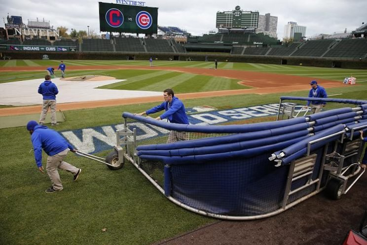 Here's some potentially good news if you want to see the home team take batting practice. (AP)